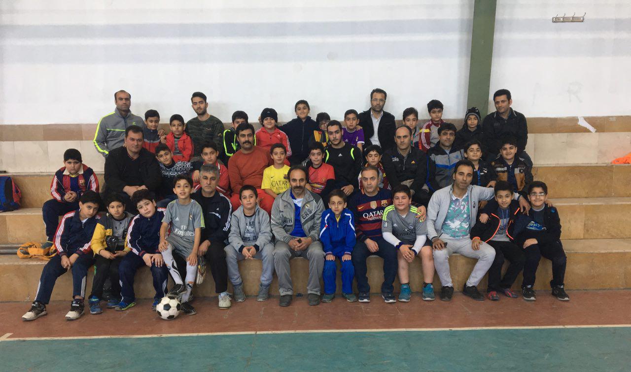 طرح فوتبال پدران با پسران