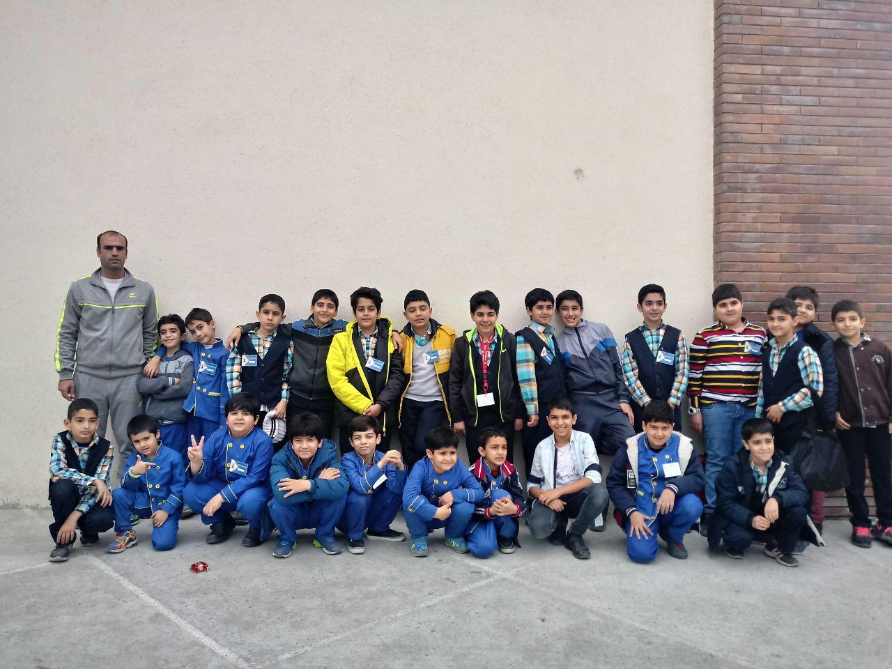 مسابقات شطرنج آموزشگاههای آمل