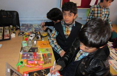 کلاس کارگاه ریاضی در دبستان فروغ دانش برگزار شد