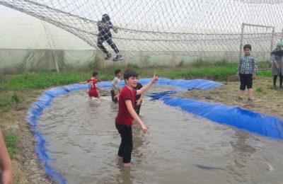 دانش آموزان دبستان فروغ دانش از مدرسه طبیعت بازدید کردند