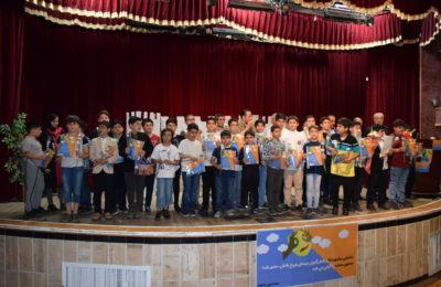 نخستین جشنواره تئاتر دانش آموزی دبستان فروغ دانش پسر برگزار شد