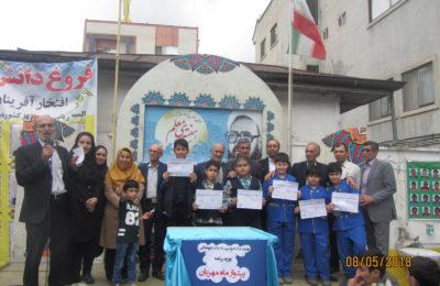 حضور  ۶ دانش آموز فروغ دانش پسر در المپیاد ریاضی کشوری