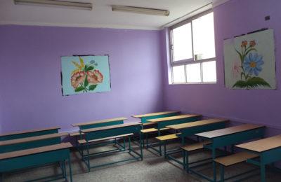 بازسازی مکان جدید مجتمع آموزشی فروغ دانش