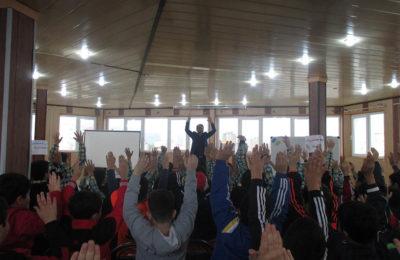 هفته بهداشت روان (شور و نشاط تحصیلی در بین دانش آموزان)
