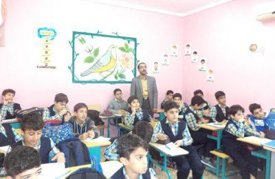 بازدید دکتر پرسیان از مجتمع آموزشی پسرانه فروغ دانش