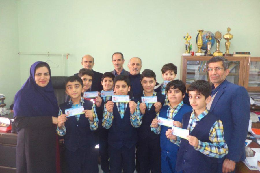 افتخاری دیگر از دانش آموزان پرتلاش فروغ دانش کسب رتبه های برتر المپیاد ریاضی مبتکران