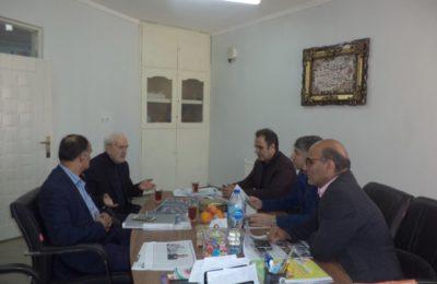 بازدید مسئوالان  آموزش و پرورش کشور و استان مازندران از مجتمع آموزشی پسرانه فروغ دانش
