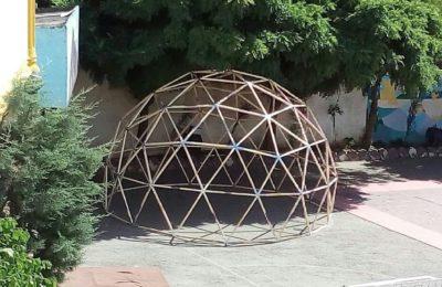 پروژه ساخت آسمان نما در حیاط دبستان