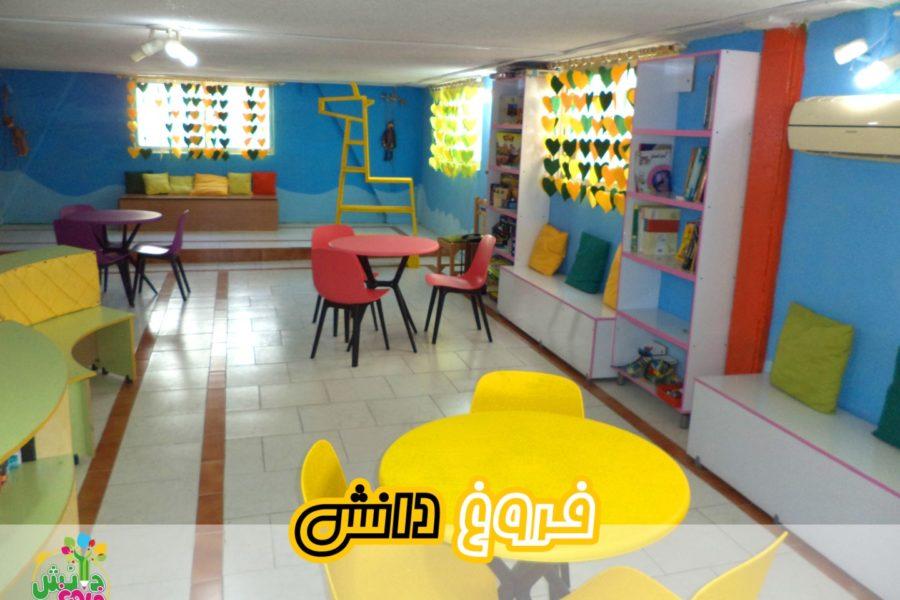 رونمایی از فضای جدید کتابخانه دبستان